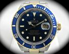 Rolex Submariner Stainless Steel/18k Yellow Gold Blue Dial 40mm 11613T D Serial