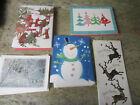 Assorted Christmas Cards w Envelopes Lot of 58