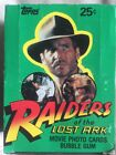 Topps Raiders Of The Lost Ark Complete Box 36packs