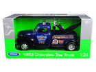 1953 Chevrolet Tow Truck Blue 124 Diecast Model 22086BL