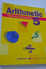 ABEKA ARITHMETIC 5 TESTS  SPEED DRILLS TEACHER KEY Excellent 2002 3rd Edition