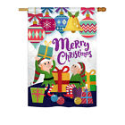 "Santa Helper Merry Christams - 28"" x 40"" Impressions House Flag - H114147"