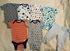 BABY BOYS 7 PIECE GERBER ONSIES LOT SIZE 0 3 MONTH NWOT
