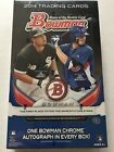 2014 Bowman Baseball Hobby Box SEALED Brand New
