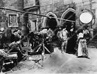 1660 030 director John Ford on set Katharine Hepburn and cast film Mary of Scotl