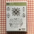 Stampin Up Cheerful Christmas Stamp Set Ornaments Cheer Pine Needles