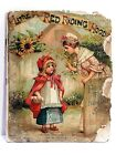 Antique Little Red Riding Hood Victorian illustrations Childrens book