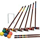 Croquet Set For Adults Kids Games Sports Outdoors Lawn Yard Party Carry Bag 6 Pc