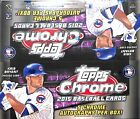 2015 Topps Chrome Baseball Jumbo Sealed Hobby Box
