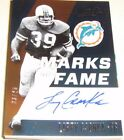 AUTO 2017 Larry Csonka Panini Absolute MARKS OF FAME AUTO #03 25 Dolphins SP