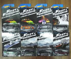 2013 Rare Hot Wheels Fast And Furious Complete Set x 8