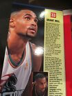 1997 Starting Lineup  6 In Poseable Grant Hill New in box never opened.