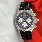 BREITLING Crosswind Windrider Chronograph Mens Watch Stainless Watch Beautiful