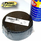BLACK EXHAUST PIPE HEAT WRAP TAPE HARLEY TRIUMPH XS650 BOBBER CHOPPER