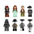 Pirates of the Caribbean 5 Captain Jack Sparrow Fit Lego Carina Smyth Henry