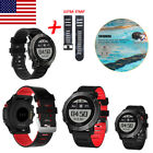 Smart Heart Rate Watch Sport GPS Fitness Tracker Backlight Call For Android IOS