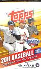 2011 Topps Baseball Update Sealed Hobby Box