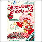 Fridge Fun Refrigerator Magnet STRAWBERRY SHORTCAKE BREAKFAST CEREAL 80s Retro