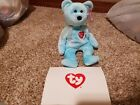 Ty Beanie Baby 2000 Rare Thank You Bear Signed Retailer Exclusive MWMT w/ Card!