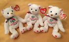 TY SPECIAL OLYMPICS COURAGEOUS SET of 3 - Canadian Exclusive Beanie Baby Bears