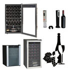 SMAD Wine Refrigerator Stainless Steel Wine Cooler Electric Wine Corkscrew