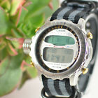 Vintage Mens Casio ProTrek Digital Alarm Chrono Watch ALT-7000 Mod.991 41.3ES