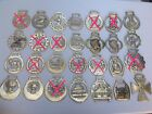 Vintage Horse Brass Tack Medallions  Martingales Price is per brass