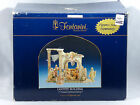 Roman Fontanini Large 5 Heirloom Nativity Stable Lighted Building 50620