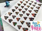 PP245 Poop Emoji Sht Planner Stickers for Erin Condren 39pcs