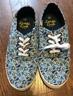 Disney Shoes Womens Size 10 Canvas Sneakers Donald Duck NWT