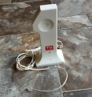 Vintage TV Guide Stand up  #1 White Color Telephone Push Button Working