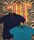 Ralph Lauren Polo Boys Size 5 Short Sleeve Button Down Lot of 3