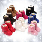 0 18Months Baby Girl Boy Newborn Winter Warm Boots Toddler Infant Sole Shoes US
