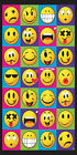 Emoji Towel Smiley Faces Kids Fun Beach Pool 30x60