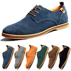 Multi Size Mens Suede Casual oxfords leather Shoes Business Dress Formal US 6 13