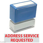 Address Service Requested JYP PA1040 Pre Inked Rubber Stamp