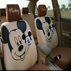 Cute Mickey Minnie Mouse Car Seat Cover Cartoon Universal Decorate Accessories