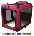 EliteField 3 Door Folding Soft Dog Crate Indoor  Outdoor Pet Home Multiple x