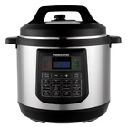 8 Quart Pressure Cooker Electric Programmable Instant Teflon Pot Fast Cook Multi