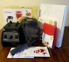 Vitamix Professional Series 300 64oz Wet Box Papers Tampers Onyx 10 Speed Black