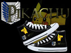 canvas shoes Anime Pokemon Meng pet Pikabadass Cosplay High help Casual canvas