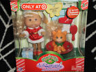NEW Cabbage Patch Kids Lil Sprouts Christmas Holiday Blonde Doll with Cat