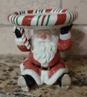 Fitz and Floyd Home Essentials Candy Christmas Santa Claus