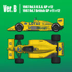 1/12 Model Factory Hiro Lotus 99T Ver. B F1 / Tamiya free shipping in the USA!!!