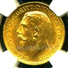 CANADA GV 1911 C GOLD COIN SOVEREIGN * NGC CERTIFIED GENUINE MS 62 * AWESOME