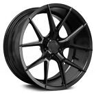 20 VERDE V99 AXIS SATIN BLACK WHEELS FOR CHRYSLER 300 AWD