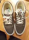 Mens VANS WINSTON Gray White Canvas Athletic Sneakers Fashion Skate Shoes NEW