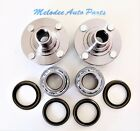 Front L R Wheel Hub  Wheel Bearing With Seal Set For NISSAN 200SX 1995 1998