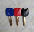 New 5pc 3 Colors Blank Key Uncut Fit for Kawasaki Ninja Zx6r Zx10r Zx12r Z1000