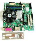 Intel DQ965GF Desktop Motherboard Combo LGA775 Socket Intel CPU 2GB RAM MicroATX